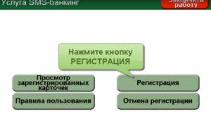 Регистрация смс-банкинга Беларусбанка